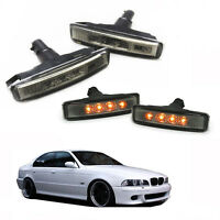 Intermitentes led para Bmw E39 Serie 5 acabado oscuro side repeaters indicatori