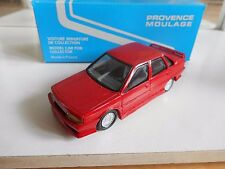 Model Resin Kit Provence Moulage Renault 21 2L Turbo in Red on 1:43 in Box