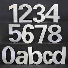 Edelstahl Hausnummern 3er Set- Anft Zahl Ziffer V2a