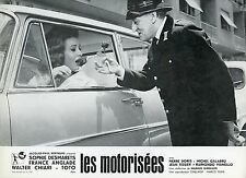 TOTO LIANA ORFEI LE MOTORIZZATE 1963 VINTAGE PHOTO LOBBY CARD N°1