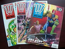 2000AD PROGS FOR SALE 3 FOR £1 - ALL IN EX CONDITION FROM APPROX 303-1099