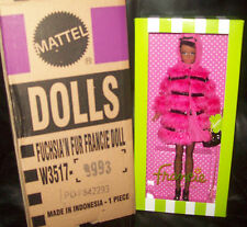 2012 BFC EXCLUSIVE Silkstone Fuchsia 'N Fur Francie Barbie New in Shipper