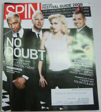 Spin Magazine No Doubt, Jane's Addiction May 2009 030713R