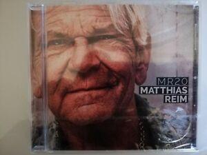 "Mathias Reim MR20 CD ""NAGELNEU"" EINGESCHWEIßT"