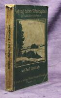 Apitzsch Wo auf hohen Tannenspitzen vogtländisches Wanderbuch 1932 Vogtland js