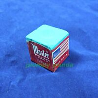 10 pieces MASTER USA Billiard Pool Snooker Tool Cue Tip King Tweeten Green Chalk