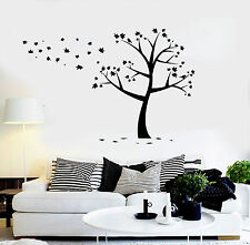 Vinyl Wall Decal Tree Leaves Nature Art Decor Stickers Mural (ig4418)