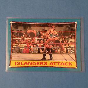 THE ISLANDERS  1987 O-PEE-CHEE WWF #30  NM/MT  PACK FRESH!
