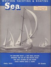 Sea Western Yachting July 1951 Kingcome Outlet, Bay Area w/ML 062117nonDBE