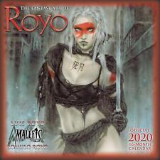 FANTASY ART OF ROYO - 2020 WALL CALENDAR  - BRAND NEW - 907464