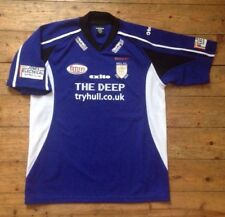 HULL F.C. YOUTH RUGBY SHIRT - HULL FC RUGBY CLUB - RUGBY LEAGUE SHIRT / JERSEY
