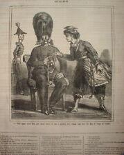 CHAR 084 CARICATURE 1863 INSURECTION POLOGNE AIDE DES ANGLAIS