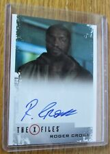 X-Files Seasons 10 & 11 Roger Cross as Officer Wentworth Autographed Card