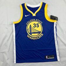 Nike NBA Golden State Warriors Kevin Durant Icon Swingman Jersey Blue Mens L-XXL