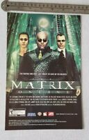 The Matrix Online RARE Print Advertisement