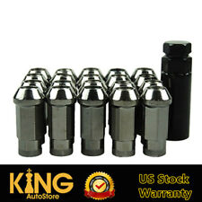 NEO STEEL 20PCS TITANIUM M12x1.5 48MM OPEN END EXTENDED WHEELS TUNER LUG NUTS