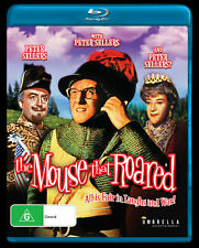 The Mouse That Roared (Blu-Ray, 1959)  Movie Peter Sellers PRE-ORDER Region All