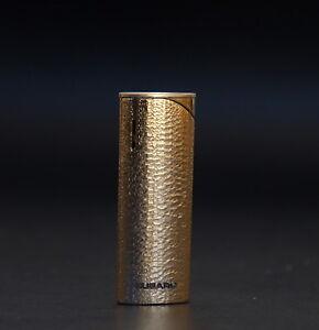 SUBARU Vintage Sleek Slim Metal Golden Tone Cigarette Lighter Made in JAPAN