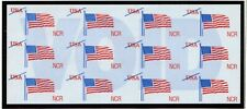 "Scott #Tdb84De Ncr ""Flying Flag"" Atm Test/Demo Stamp Pane"