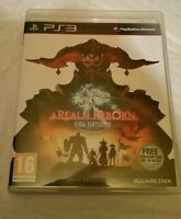 Final Fantasy XIV A Realm Reborn for Sony PlayStation 3 14 UK PAL PS3 Best Price