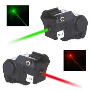 Red/Green Laser Sight for Picatinny Glock 17 19 20 21 22 23 34 Pistols/Handgun