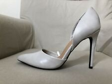 New With Defects/ FOREVER 21 High Heels POINTED SHOES SZ 7.5 Gray
