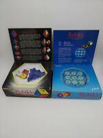 Vintage Rubik's Clock & Triamid Puzzles Boxed Matchbox 1980's
