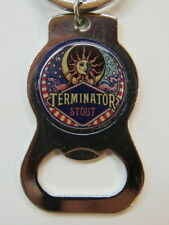 Key Chain Metal Bottle Opener ~ McMENAMINS Brewery Terminator Stout ~ OREGON