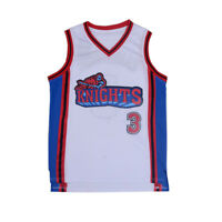 Iverson Men's Basketball Jersey Like Mike Movie Knights #3 Calvin Cambridge