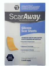 "ScarAway Silicone Scar Sheets (1.5"" x 3"") 8 ct"