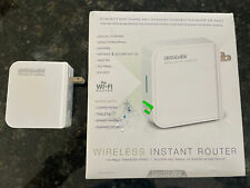 New listing 2 CrystalView Wireless Router Portable Wifi Range Extender 150 Mbps 1 New 1 Used