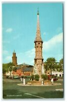 Postcard Banbury Cross Oxfordshire