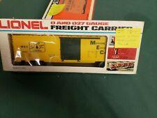 O Gauge Lionel 6 - 9421 Maine Central Box Car lot IK