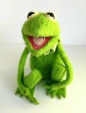 Kermit The Frog 1976 Vintage Fisher Price Soft Toy With Velcro Hands & Feet (v3)