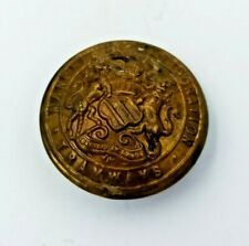 VINTAGE MANCHESTER CORPORATION TRAMWAYS UNIFORM BUTTON 24MM