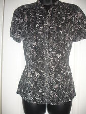 Women's Animal Print Polyester Classic Formal Tops & Shirts