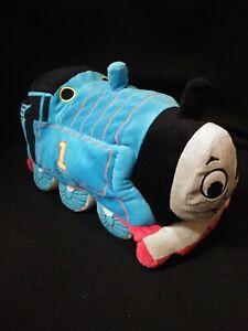 Thomas the Train 2010 Plush Cuddly Soft 16'' Pillow Play Bean Bag Stuffed Toy
