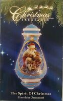 Christmas Treasures Precious Moments  SANTA w/ANIMALS Xmas Ornament $62@Macy's