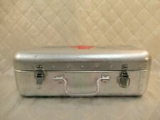 Aluminum First Aid Case Hungarian 1960s Medical Tin Box Vintage Military