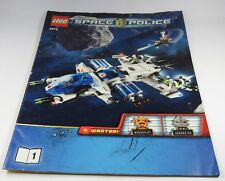 LEGO® Bauanleitung Instruction Nr. 5974 Space Police Raumschiff Polizei Heft 1
