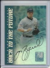 1998 ELITE BACK TO FUTURE JEFF BAGWELL HOF 2017 & TODD HELTON DUAL AUTO #D/100