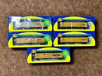 Ho Scale Athearn Lot Of 5 A.T.S.F Santa Fe Reefers New In Boxes