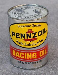 VINTAGE PENNZOIL UNOPENED RACING MOTOR OIL - SAE 50