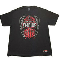 Mens Large WWE Roman Reigns From Ashes To Empire T-Shirt Official Wrestling XL