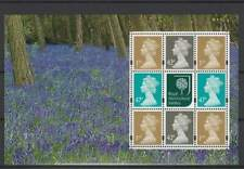 Engeland / Great Britain vel/sheet - Forrest / Flowers (017)