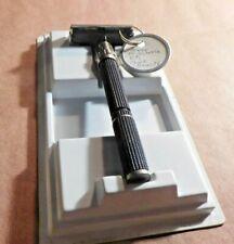 Gillette 1978 Y-1 Razor Black Beauty  Super Adjustable
