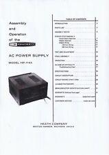 Assembly & Operation Manual de Instrucciones Para Heathkit HP-1144