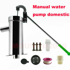 Home Manual Water Pump Stainless Steel Domestic Well Hand Shake Suction Pump Kit