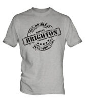 MADE IN BRIGHTON MENS T-SHIRT GIFT CHRISTMAS BIRTHDAY 18TH 30TH 40TH 50TH 60TH