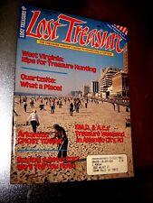 Lost Treasure Magazine February 1989 Treasure Hunting Gold Silver Coins
